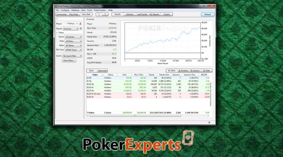 Poker Tracker 4 обзор - вечный триал, как скачать бесплатно и пользоваться - Фото 2