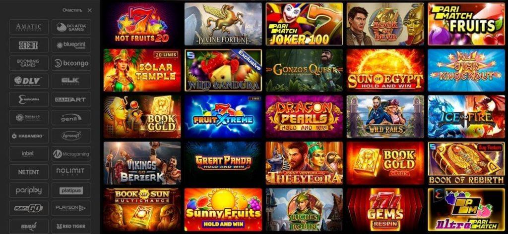 Parimatch Casino Slots
