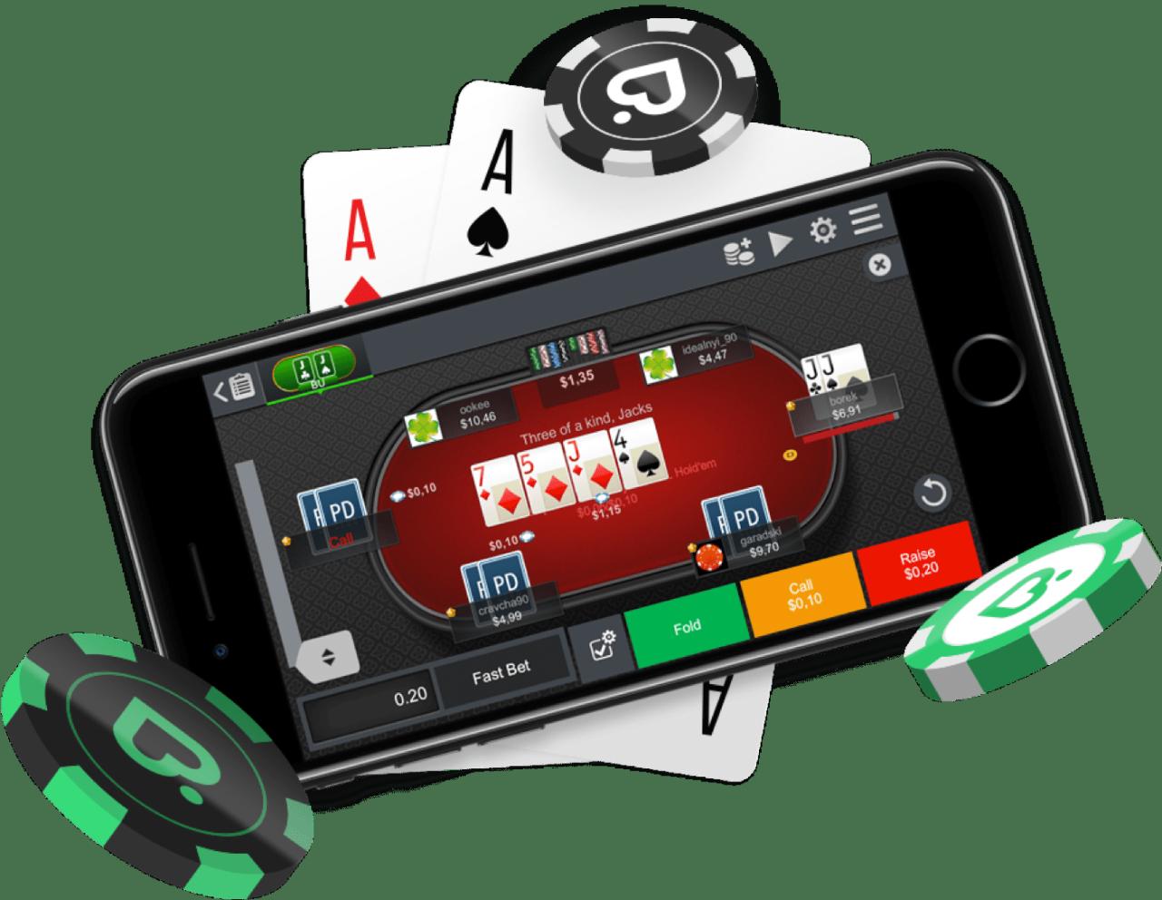 Как скачать покер на Андроид покердом