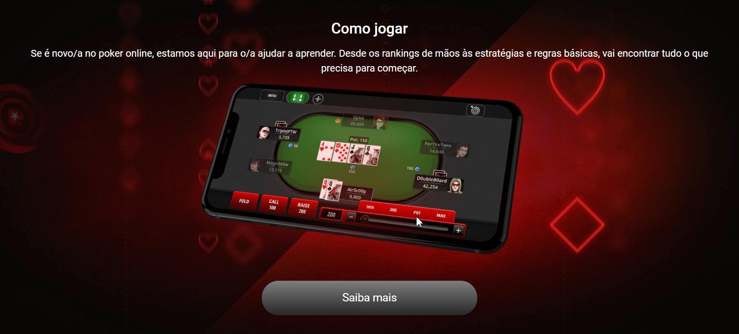 мобильная версия pokerstars.es